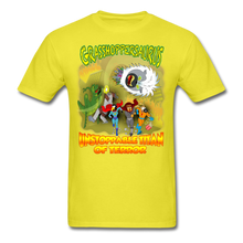 Load image into Gallery viewer, Grasshoppersaurus vs King Cotton Top - yellow