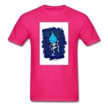 Load image into Gallery viewer, Cute Oil Oily Blue Boy - fuchsia