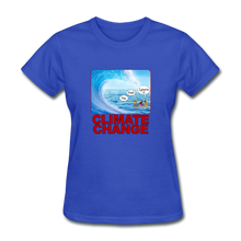 Load image into Gallery viewer, Climate Change Wave - royal blue