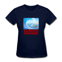 Load image into Gallery viewer, Climate Change Wave - navy