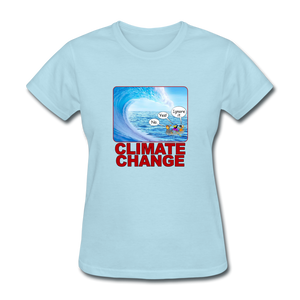 Climate Change Wave - powder blue