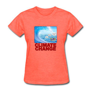 Climate Change Wave - heather coral