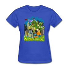 Load image into Gallery viewer, Grasshoppersaurus - royal blue
