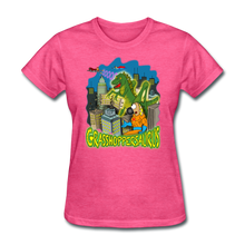 Load image into Gallery viewer, Grasshoppersaurus - heather pink