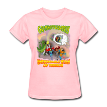 Load image into Gallery viewer, Grasshoppersaurus vs King Cotton Top - pink