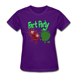 It's Not About Larry Fart Party - purple