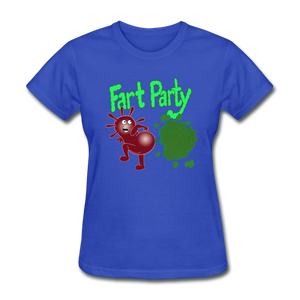 It's Not About Larry Fart Party - royal blue