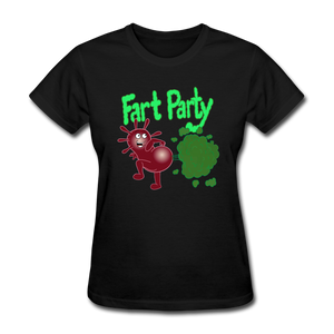 It's Not About Larry Fart Party - black