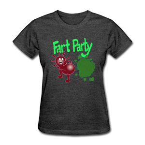 It's Not About Larry Fart Party - heather black