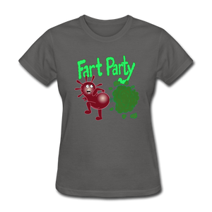 It's Not About Larry Fart Party - charcoal