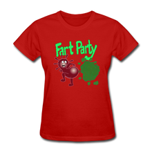 Load image into Gallery viewer, It's Not About Larry Fart Party - red