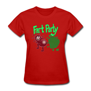 It's Not About Larry Fart Party - red