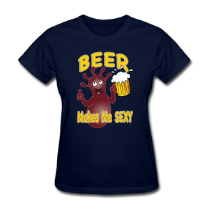 It's Not About Larry Mumba Beer - navy