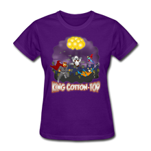Load image into Gallery viewer, King Cotton Top To The Rescue - purple