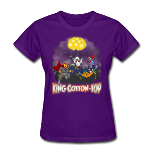 King Cotton Top To The Rescue - purple