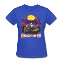 Load image into Gallery viewer, King Cotton Top To The Rescue - royal blue