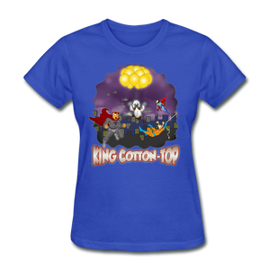 King Cotton Top To The Rescue - royal blue