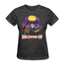 Load image into Gallery viewer, King Cotton Top To The Rescue - heather black