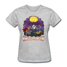 Load image into Gallery viewer, King Cotton Top To The Rescue - heather gray