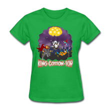 Load image into Gallery viewer, King Cotton Top To The Rescue - bright green