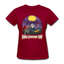 Load image into Gallery viewer, King Cotton Top To The Rescue - dark red