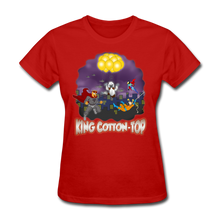 Load image into Gallery viewer, King Cotton Top To The Rescue - red
