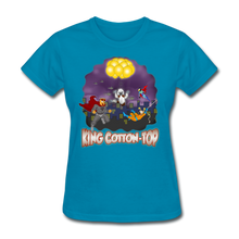Load image into Gallery viewer, King Cotton Top To The Rescue - turquoise