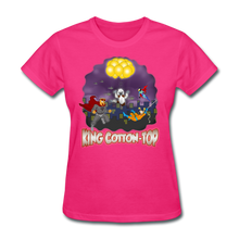 Load image into Gallery viewer, King Cotton Top To The Rescue - fuchsia