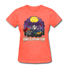 Load image into Gallery viewer, King Cotton Top To The Rescue - heather coral