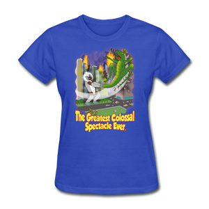 King Cotton Top Lets Fly - royal blue