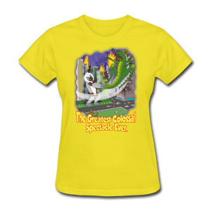King Cotton Top Lets Fly - yellow