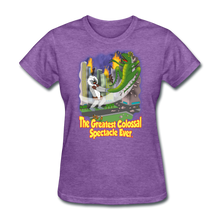 Load image into Gallery viewer, King Cotton Top Lets Fly - purple heather