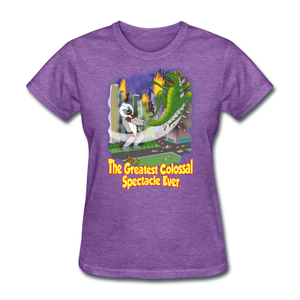 King Cotton Top Lets Fly - purple heather