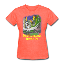 Load image into Gallery viewer, King Cotton Top Lets Fly - heather coral
