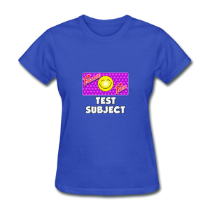 Positive Patch Test Subject - royal blue