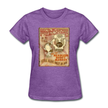 Load image into Gallery viewer, Retro Freakshow Poster - purple heather