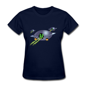 Space Alien Pee - navy