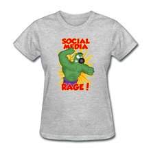 Load image into Gallery viewer, Social Media Rage - heather gray