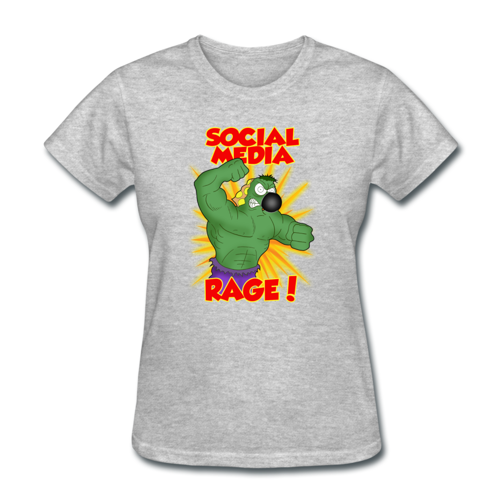 Social Media Rage - heather gray