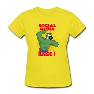 Social Media Rage - yellow