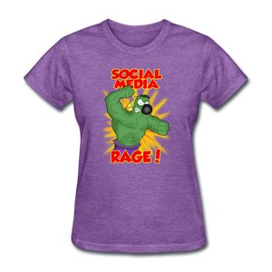 Social Media Rage - purple heather