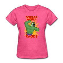 Load image into Gallery viewer, Social Media Rage - heather pink