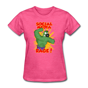 Social Media Rage - heather pink