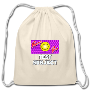 Positive Patch Test Subject - Cotton Drawstring Bag - natural