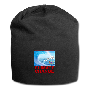 Climate Change - Jersey Beanie - black