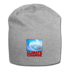 Load image into Gallery viewer, Climate Change - Jersey Beanie - heather gray