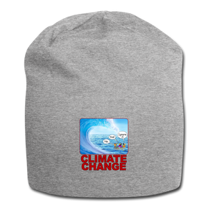 Climate Change - Jersey Beanie - heather gray