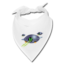 Load image into Gallery viewer, Alien Pee - Bandana - white