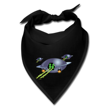 Load image into Gallery viewer, Alien Pee - Bandana - black