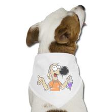 Load image into Gallery viewer, Grafiti Rantdog - Dog Bandana - white